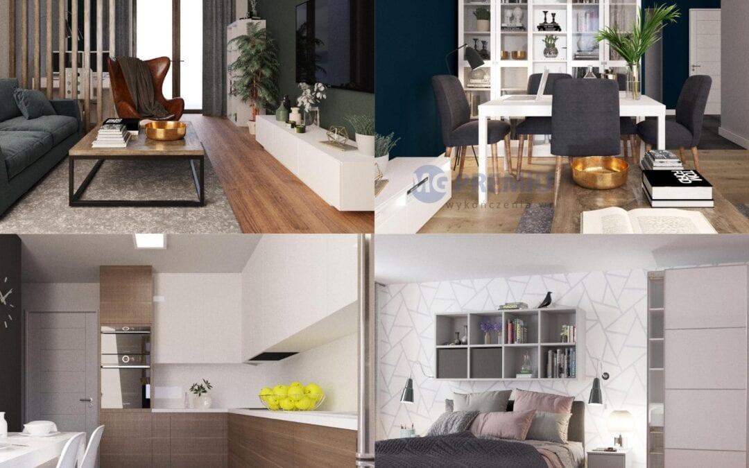 Jak trafnie dobrać kolory w mieszkaniu? – zaprojektuj z nami swoje wymarzone wnętrza